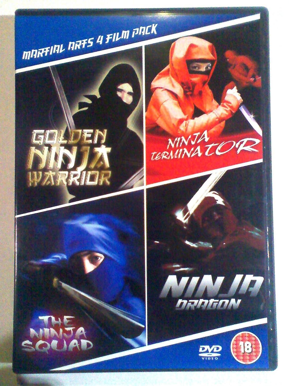Ninja warrior + Ninja Terminator + Ninja Dragon + Ninja Squad ...