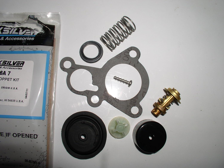 New Mercury Mercruiser Quicksilver Oem Part # 888913A01 Poppet Valve Assy