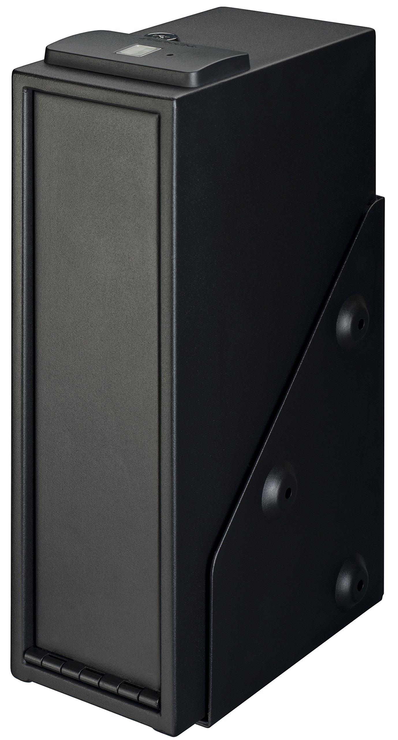 Stack-On QAS-1514-B Quick Access Single Gun Safe with Biometric Lock