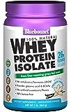 BlueBonnet 100% Natural Whey Protein Isolate Powder, French Vanilla, 1 Pound