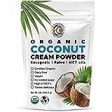 Earth Circle Organics - Organic Coconut Cream   Milk Powder, Perfect Keto Coffee Creamer - High in MCT Oil, Vegan, No Added S