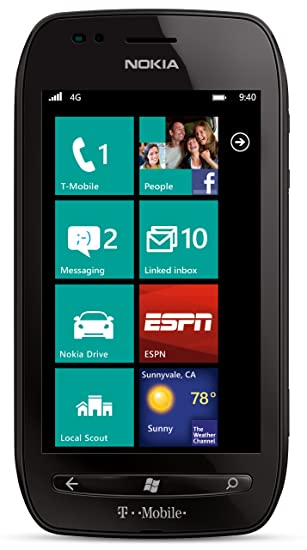 amazon com nokia lumia 710 black 8gb t mobile cell phones rh amazon com nokia lumia 710 manual de usuario nokia lumia 710 manual download