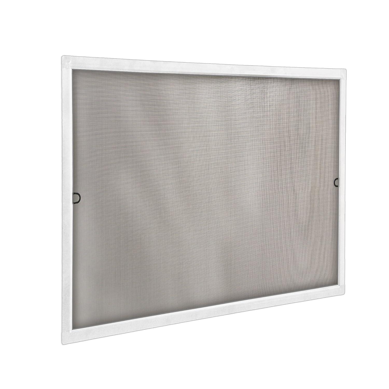 JAROLIFT Insektenschutz Spannrahmen SlimLine f/ür Fenster 80 x 150cm in braun