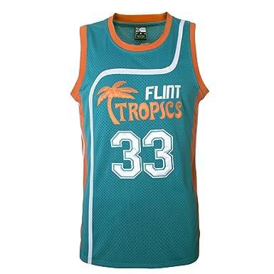 74945ff84 MOLPE Men s Jackie Moon 33 quot Flint Tropics Basketball Jersey S-XXXL ...