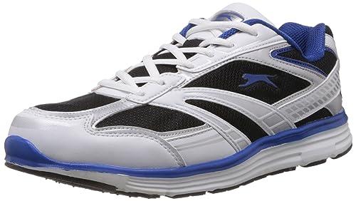 Slazenger Frost Men's 10 White Navy Mesh Shoes UkBuy Running And 9WDHIEY2