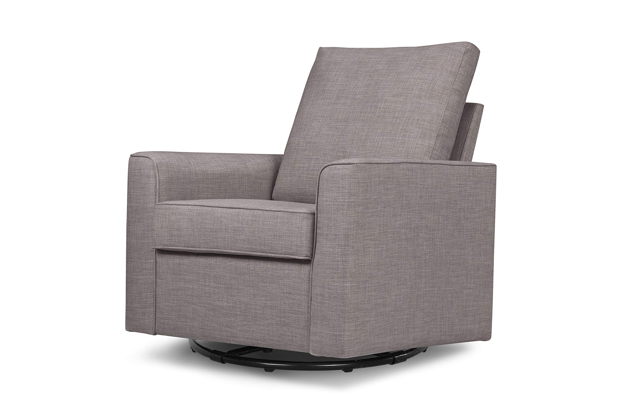 Million Dollar Baby Classic Alden Swivel Glider, Grey Tweed by Million Dollar Baby Classic