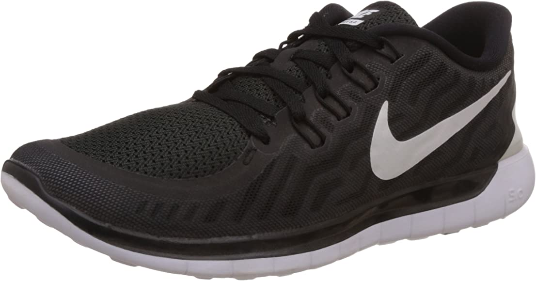 Amazon Com Nike Men S Free Trainer 5 0 Training Shoe Black Dark Grey Cool Grey White Size 8 5 M Us Fitness Cross Training