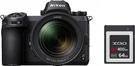 Nikon Z 6 Spiegellose Vollformat Kamera Mit 14 30 Mm Kamera