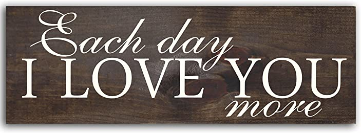 Sign - Each Day I Love You More