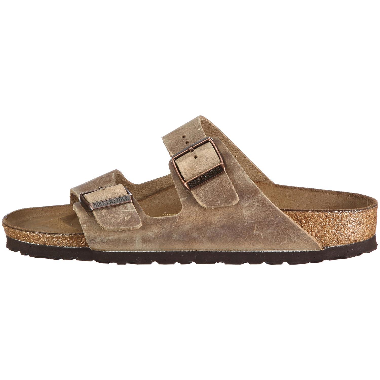 Birkenstock Arizona, Zapatos con Hebilla Unisex Adulto, Negro (Schwarz 001), 35 EU (Estrecho)