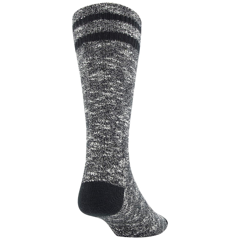 2 Pairs Gold Toe Mens Lux Slub Crew Socks