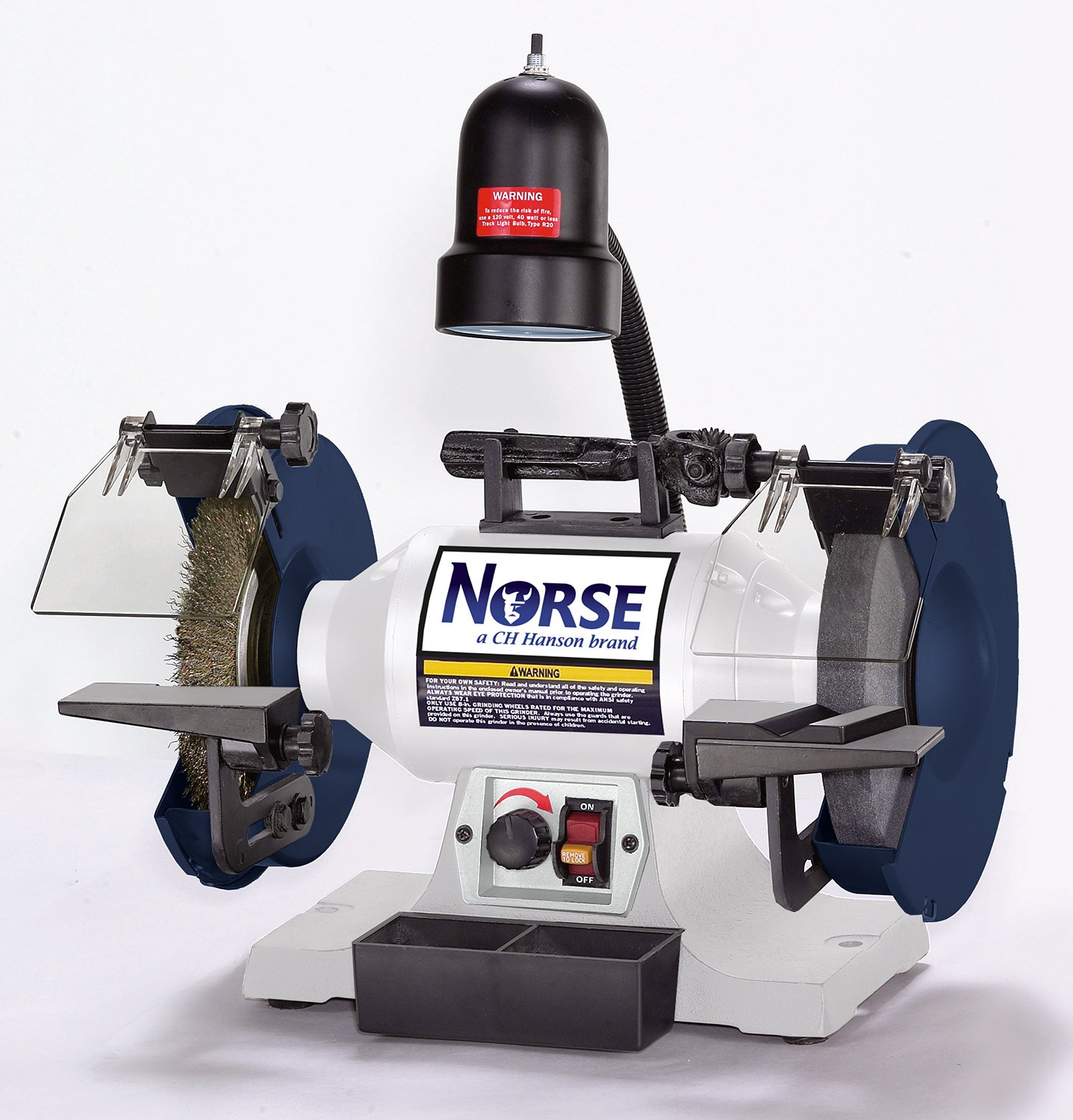 Norse BGC8 9682080 Bench Grinding Center, 8'' by Norse