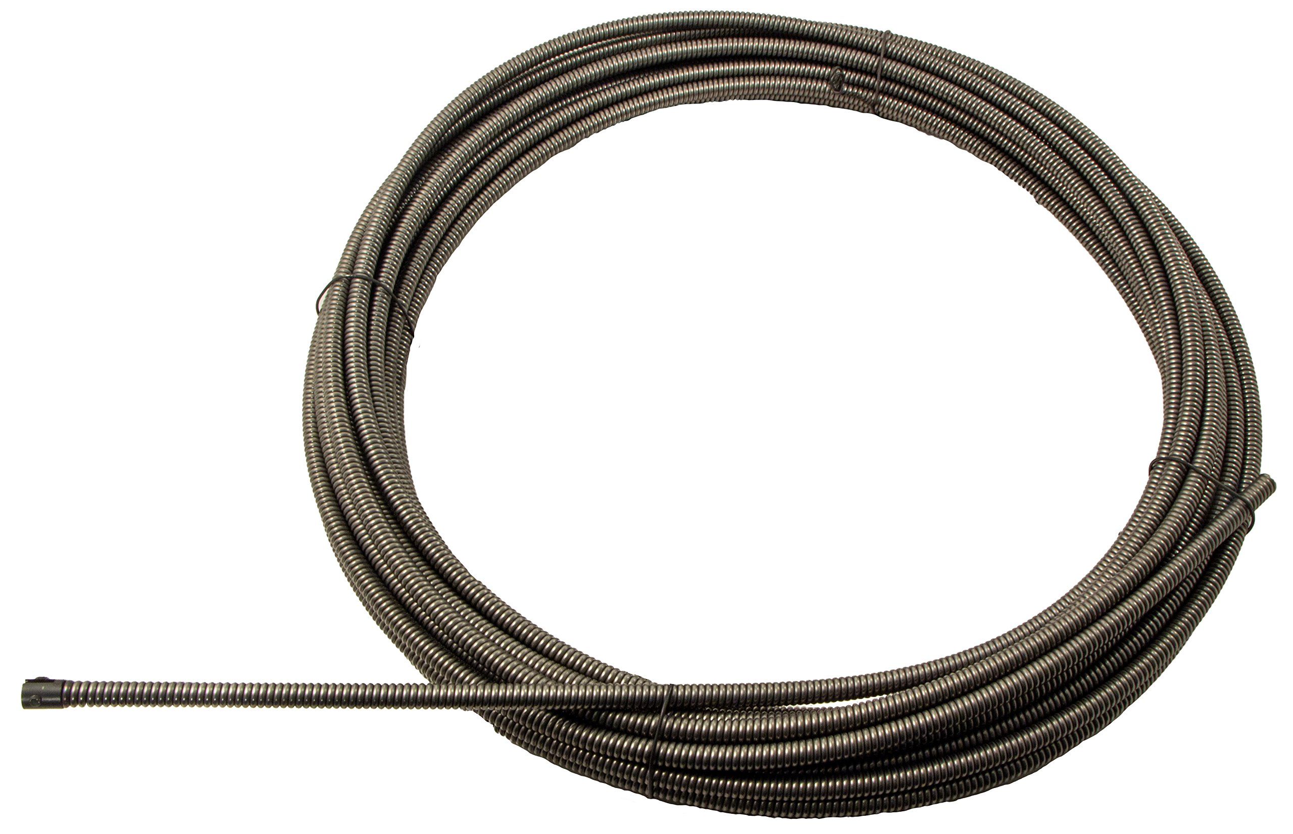 3/8'' x 75' Drain Cable - Aircraft Wire Inner Core, Slotted Ends (31075SLT) by Draincables Direct