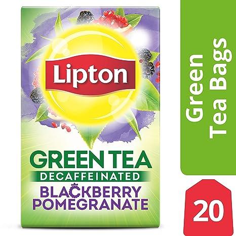 Lipton Green Tea Bags, Decaffeinated Blackberry Pomegranate, 20 Ct by Lipton