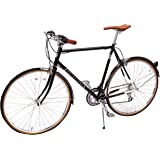 Retrospec Bicycles Kinney 14-Speed Vintage Hybrid Diamond Flat-Bar Frame Bicycle