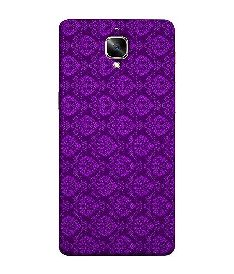 reputable site 8e50c 59ed0 Oneplus 3T Cases and Cover - Self Design in Purple: Amazon.in ...