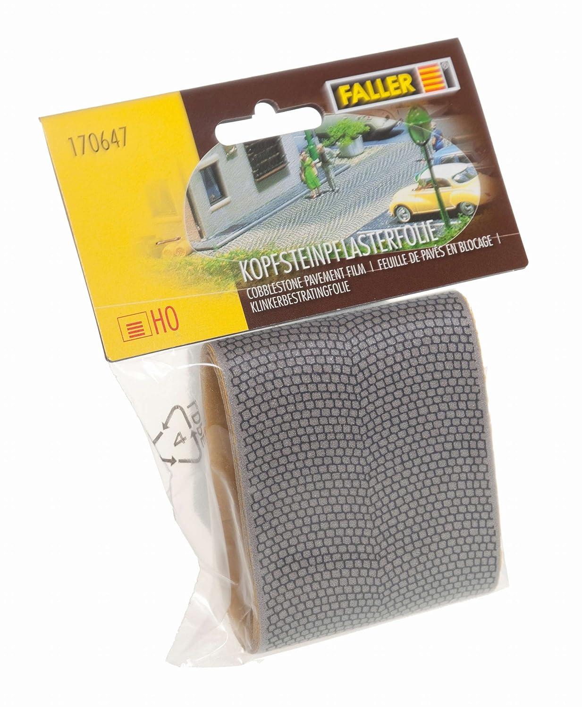 Faller 170647 - Lámina de suelo empedrado (100 x 70 mm) [importado de Alemania]: Amazon.es: Juguetes y juegos