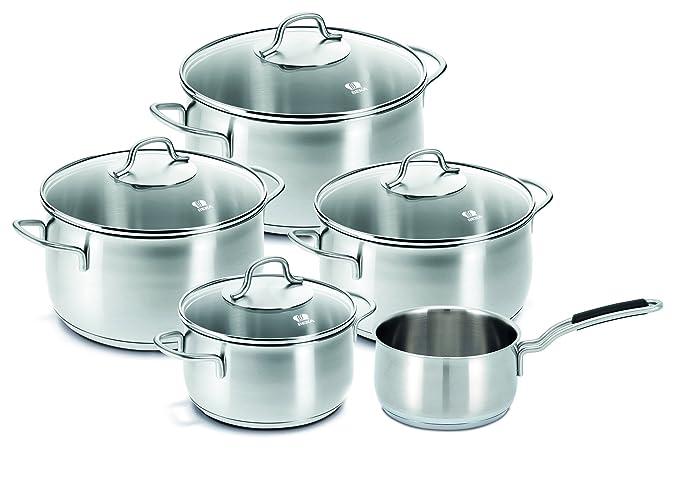 Amazon.com: Beka Cookware Royal - Batería de cocina (5 ...