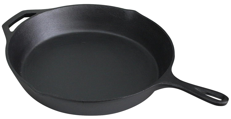 Ewei's Homeware 12 inch Pre Seasoned Cast Iron Skillet Pan