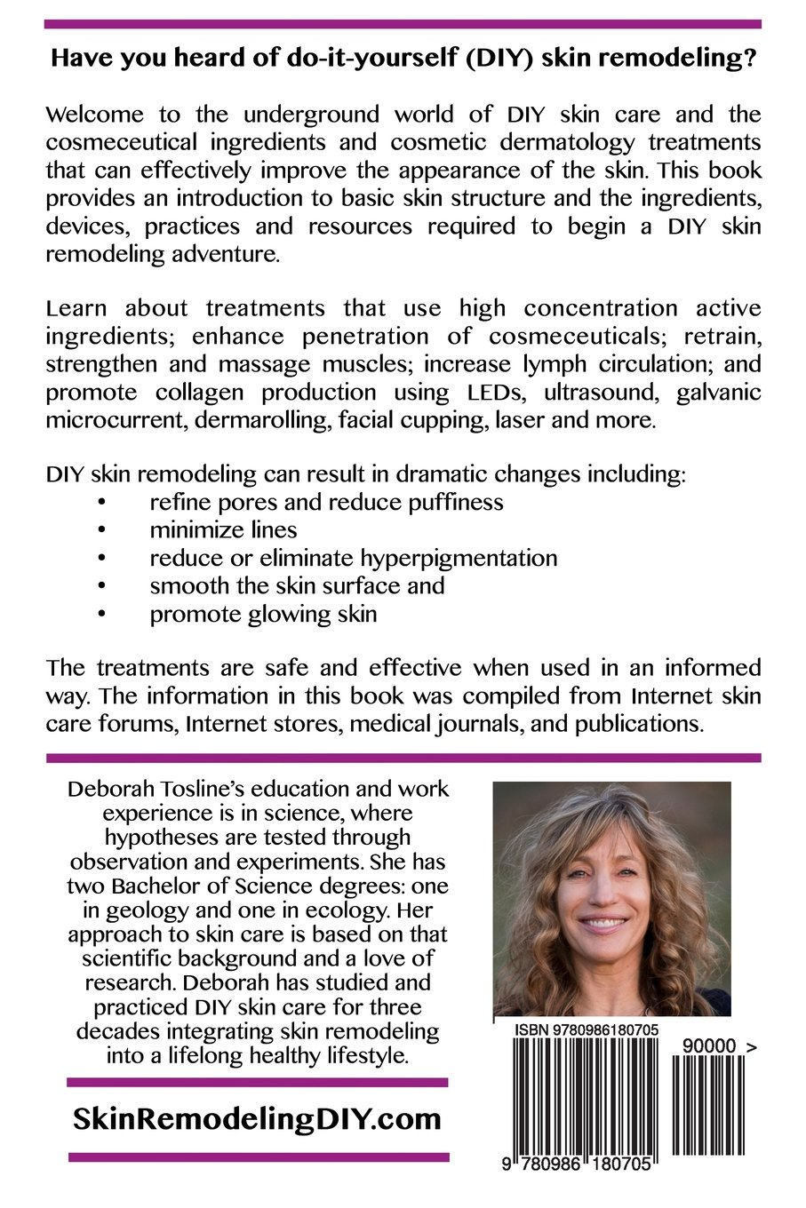Skin remodeling diy an introduction to the underground world of do skin remodeling diy an introduction to the underground world of do it yourself skin care deborah tosline 9780986180705 amazon books solutioingenieria Choice Image