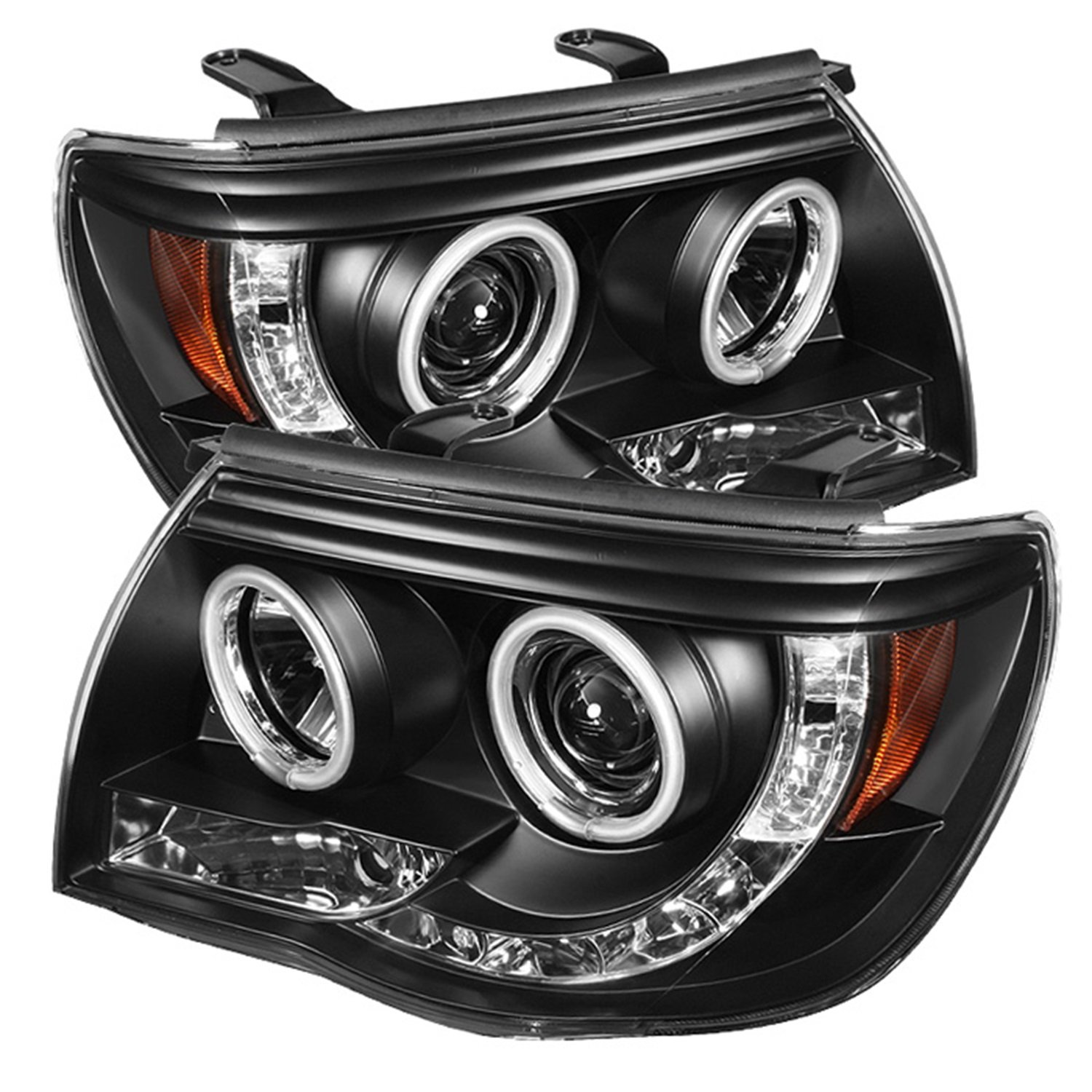 spyder halo led projector headlights wiring spyder auto wiring amazon com spyder auto toyota tacoma black ccfl led projector on spyder halo led projector headlights