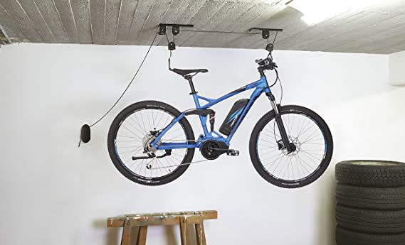 Fischer 50386 Soporte para Bicicleta, Negro, bis 30kg: Amazon.es ...