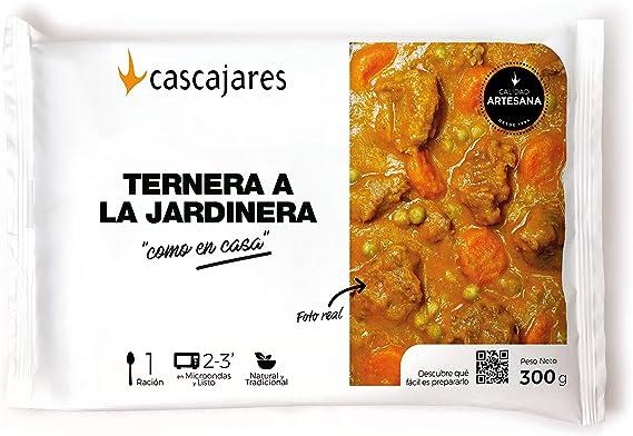 CASCAJARES - Guiso de Ternera en salsa Jardinera