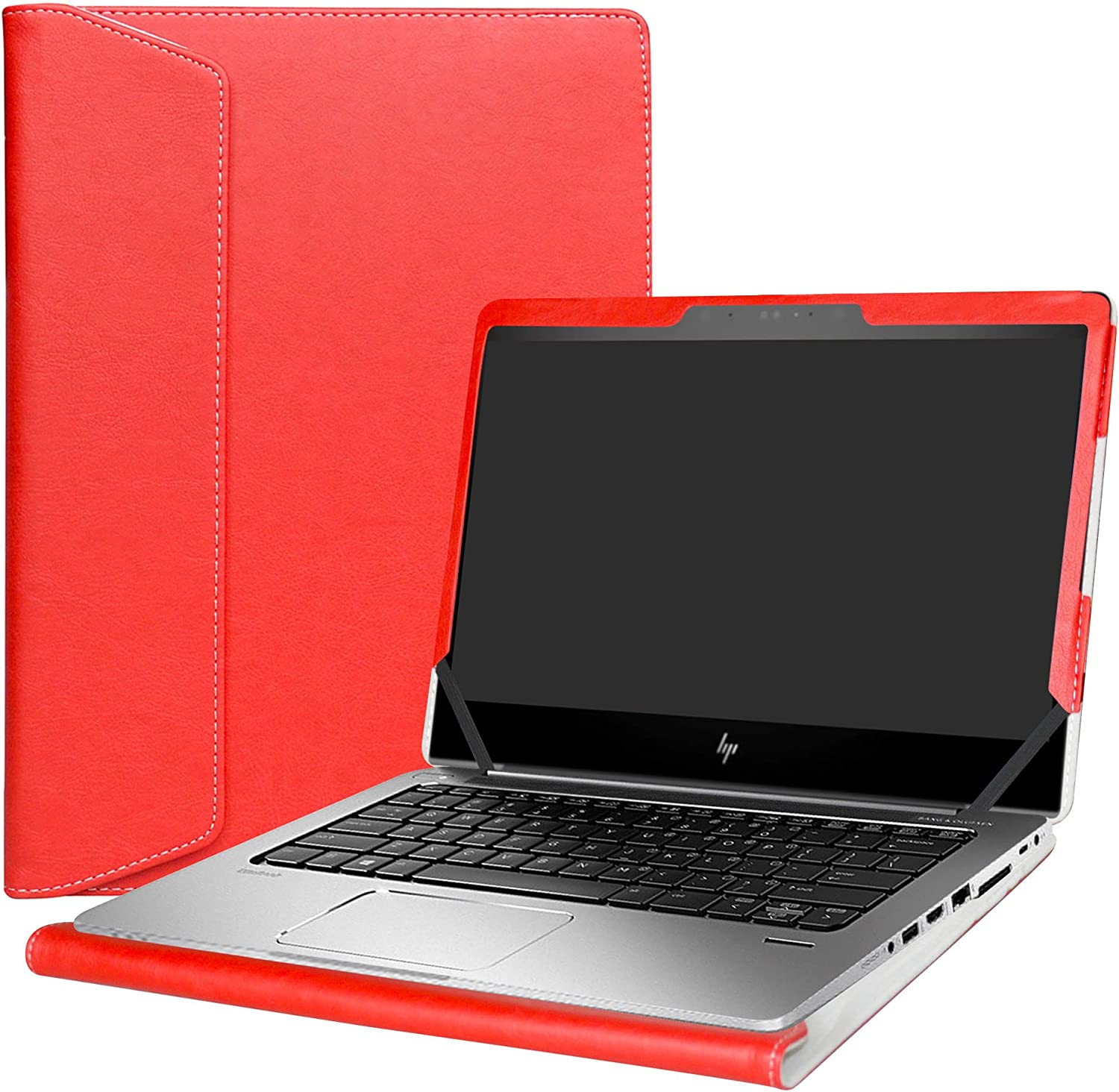 "Alapmk Protective Case Cover For 13.3"" HP EliteBook 830 G5 G6/EliteBook 735 G5 G6 & HP ProBook 430 G6 Laptop(Warning:Not fit EliteBook 830 G4/G3 & ProBook 430 G5/G4/G3),Red"