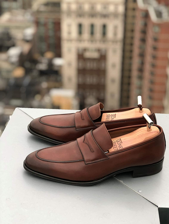Designed in NYC Stone Street Cedar Shoe Trees for Men
