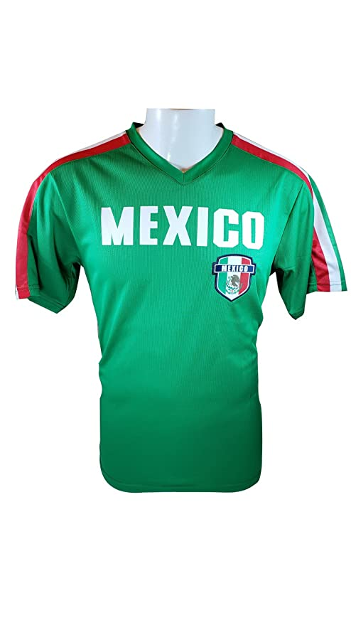 d17f91e164f Iconsports Mexico Soccer World Cup Adult Soccer Training Performance Jersey  -009 L
