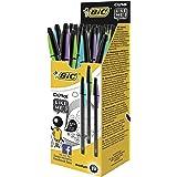 BIC Cristal Like Me - Estuche de 20 bolígrafos, color negro