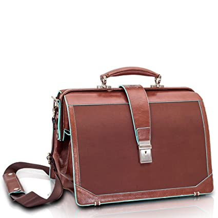 f6ea8fec088 TREND S maletín médico de piel y poliamida marrón  Amazon.es  Hogar