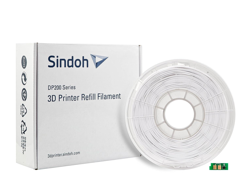 Recarga de Filamento PLA Blanco para 3DWOX (DP200/DP201): Amazon.es: Industria, empresas y ciencia