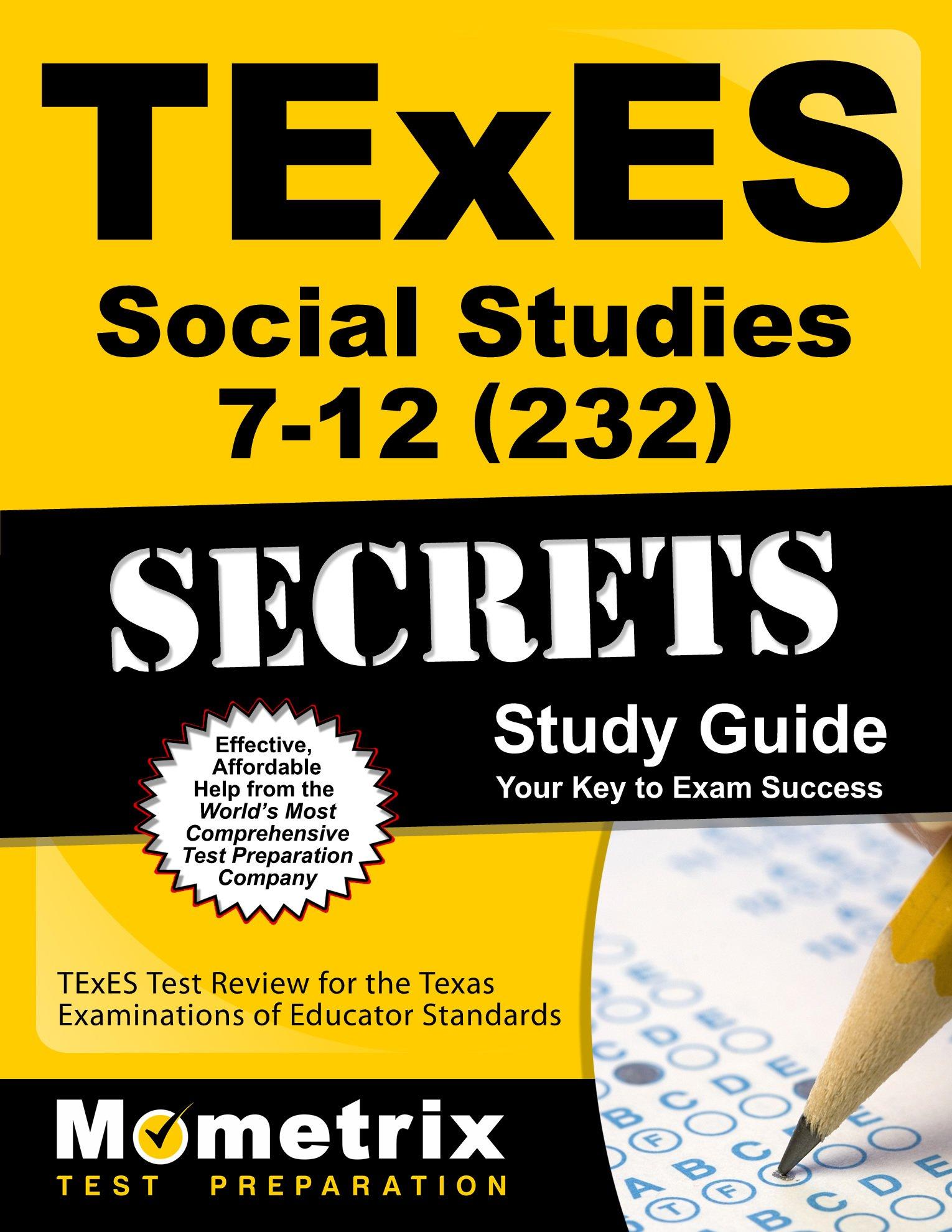 TExES Social Studies Secrets Study product image