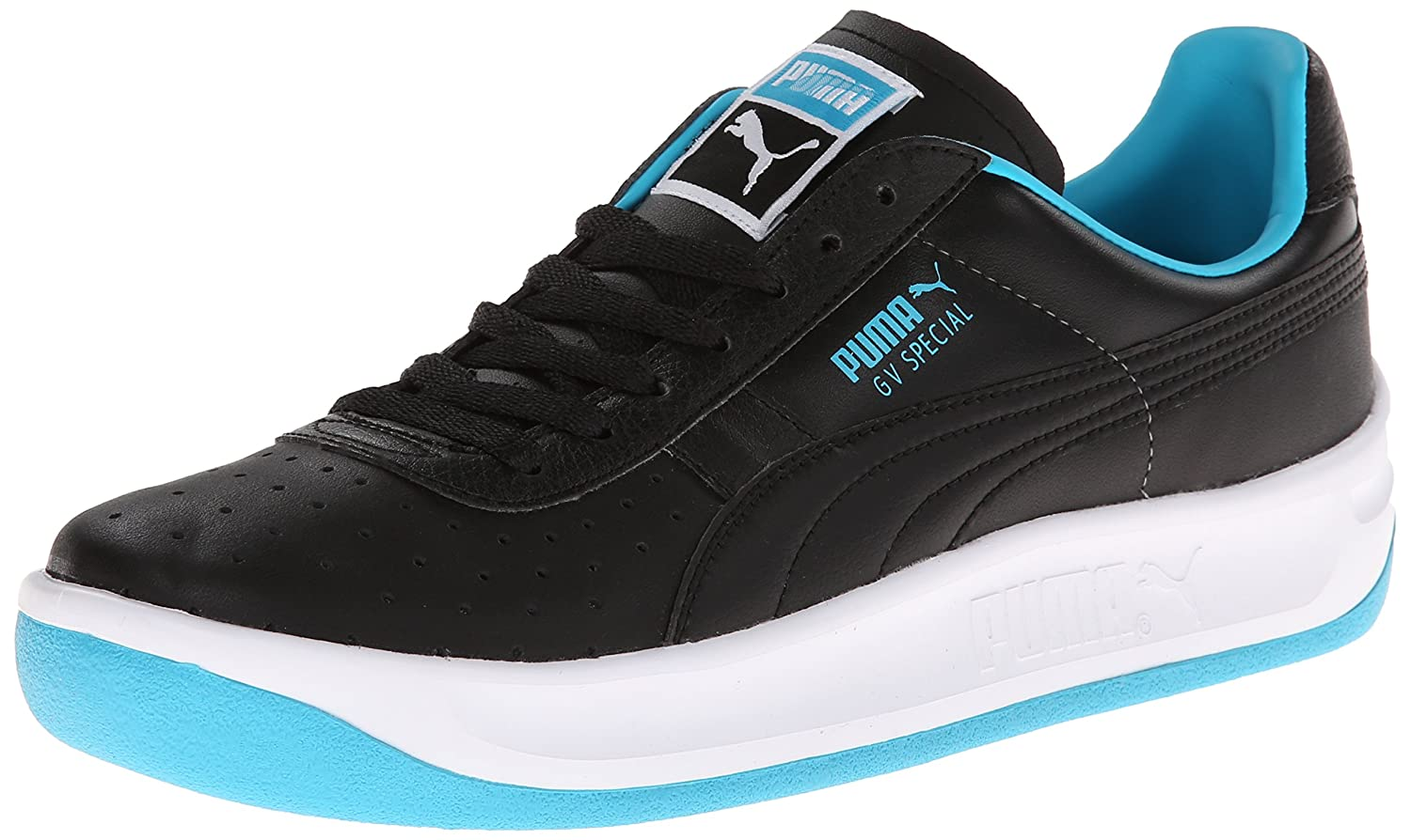 PUMA Men's GV Special Fashion Sneaker B00GV4O17M 11.5 M US|Black/Scuba Blue