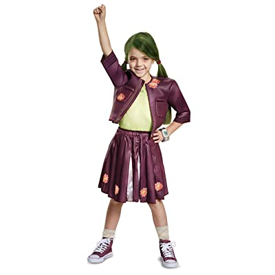 Z-O-M-B-I-E-S Zoey Cheerleading Outfit Classic Child Costume: Toys & Games