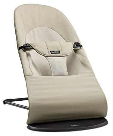 7801365ac51 Amazon.com   BABYBJORN Bouncer Balance Soft - Khaki Beige
