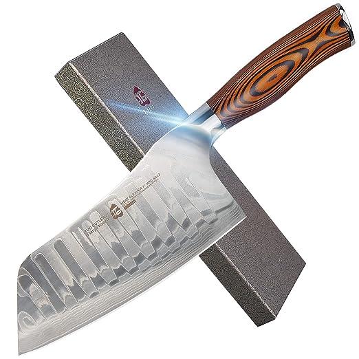 TUO Cutlery - Cuchillo para verduras (acero inoxidable ...