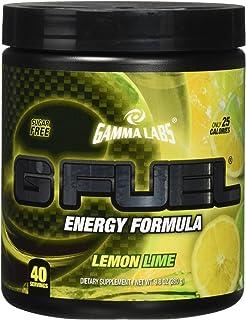 Amazon.com: Gamma Labs G Fuel Dietary Supplement, Lemon Lime, 280 ...