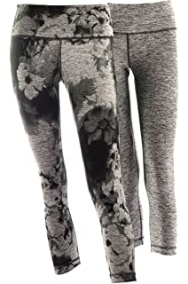 5e7a79653371c6 Active Life 90° by Reflex Ladies Performance Athletic Capri Pants ...