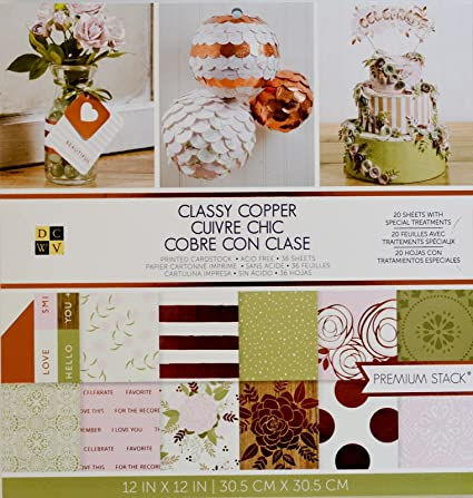 """Diecuts With A View DCWV Paper Stack Double-Sided 12/""""X12/"""" 36//Pkg-Country Floral,"""