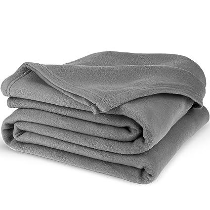 0e1503b8fd Equinox polar fleece blanket dove grey super jpg 425x425 Polar fleece  blankets