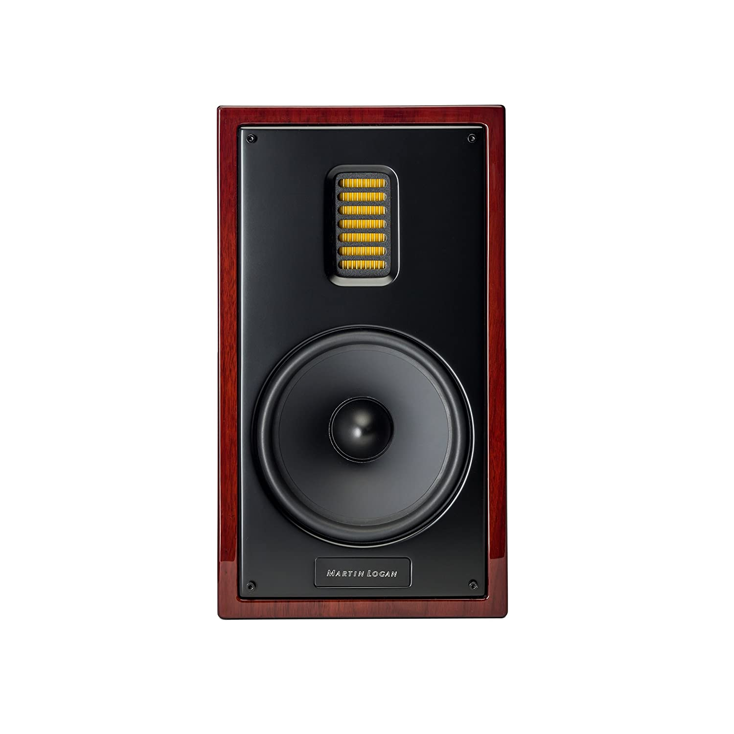 Amazon MartinLogan Motion 35XT Bookshelf Speaker Gloss Black Cherrywood Home Audio Theater