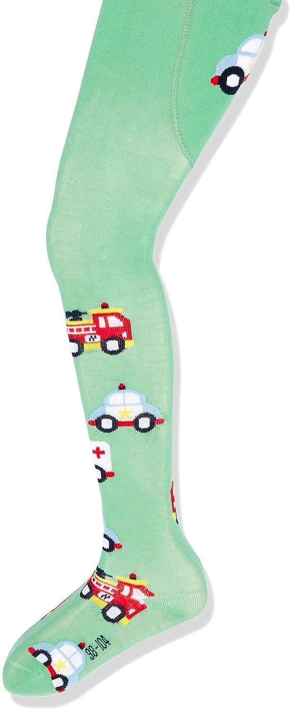 Sterntaler Baby-Jungen Strumpfhose Rettungswagen 8601706
