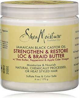 product image for Shea Moisture Jamaican Black Castor Oil Loc & Braid Butter, 6 Ounce