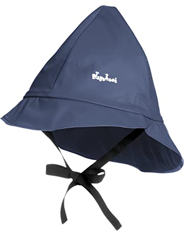 82e534af Playshoes Unisex Baby Kids Waterproof Rain with Cotton lining Hat