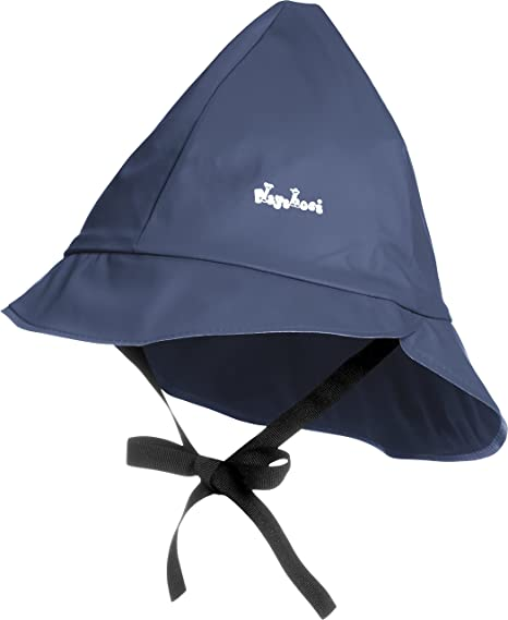 309b13a1afc Playshoes Kids Waterproof Rain Hat with Cotton Lining  Amazon.ca  Clothing    Accessories