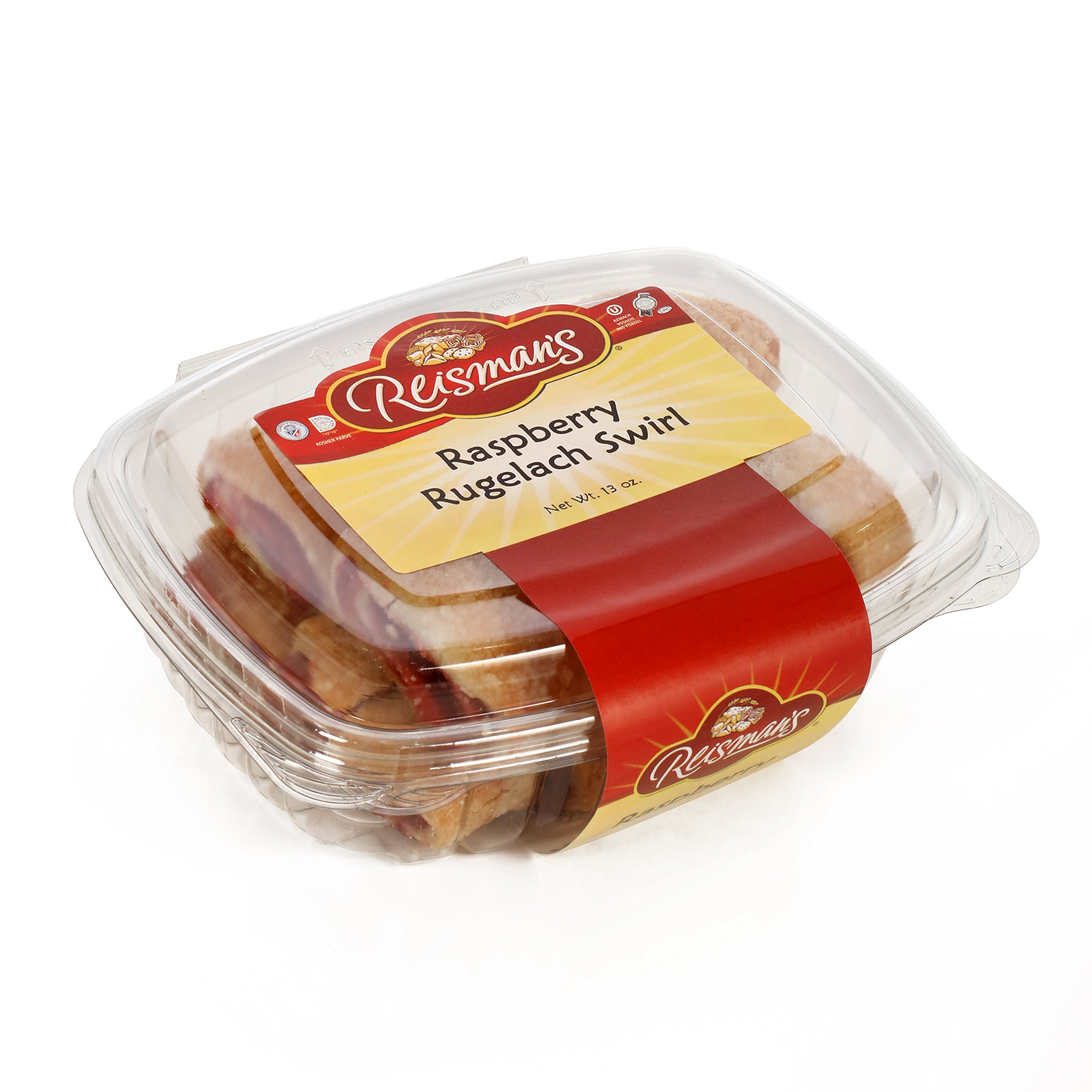 Raspberry Rugelach Swirl