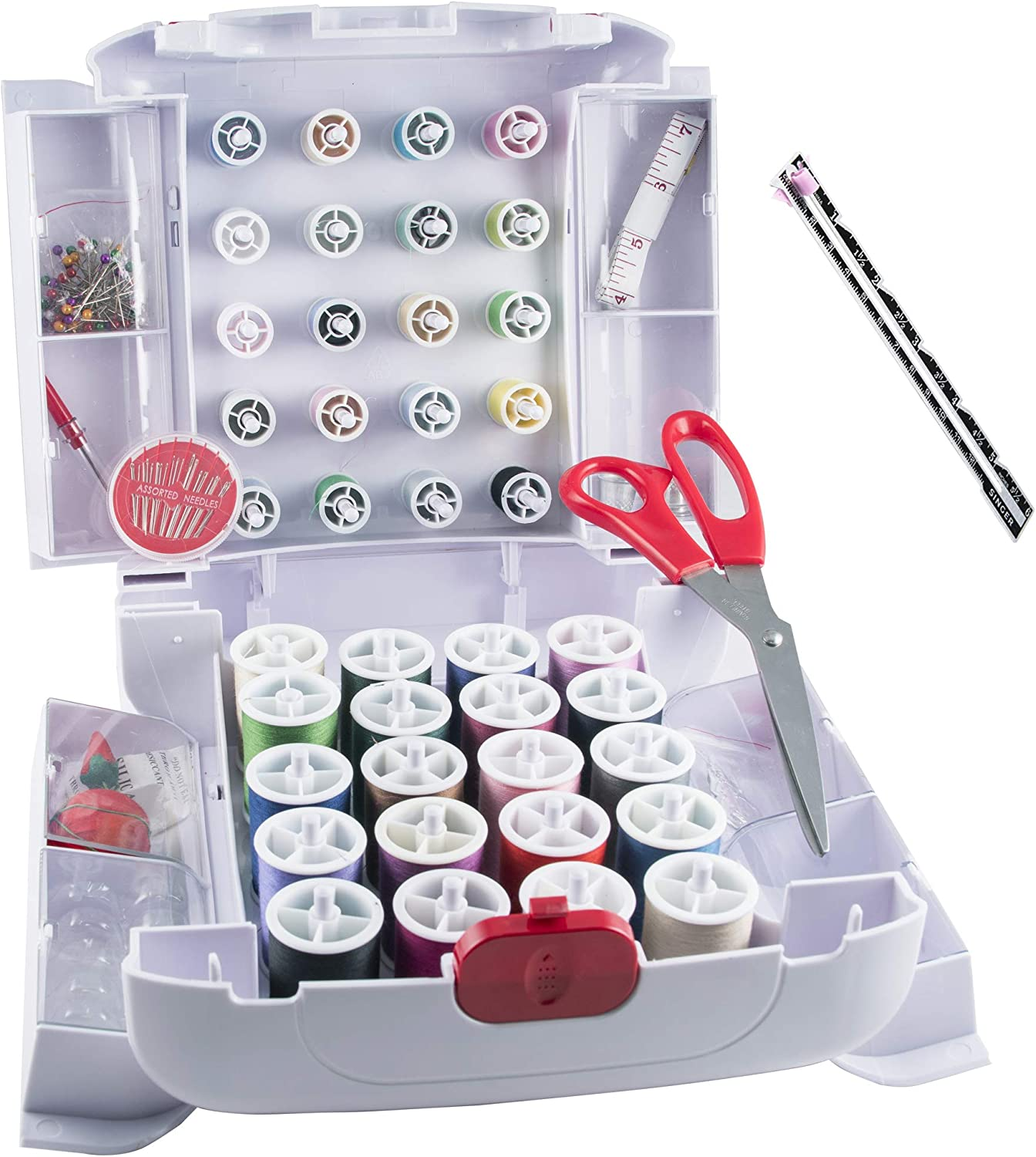 SINGER SEWING KIT WITH SEWING KIT ACCESSORIES MULTI-COLOR