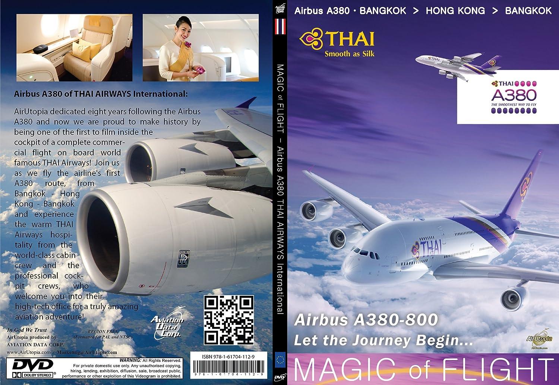 Air Utopia Thai Airbus A380 - Magic of Flight: Amazon co uk: DVD
